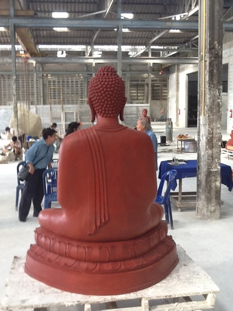 Back of Buddha